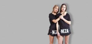 komera neza black exclusive t-shirt with white komera neza print logo