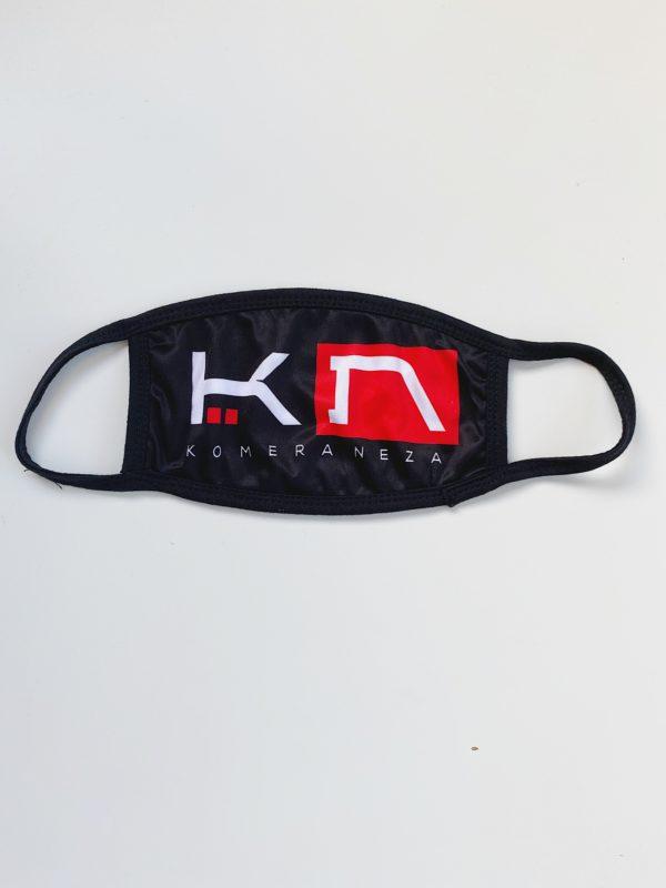 Black KOMERA NEZA face mask